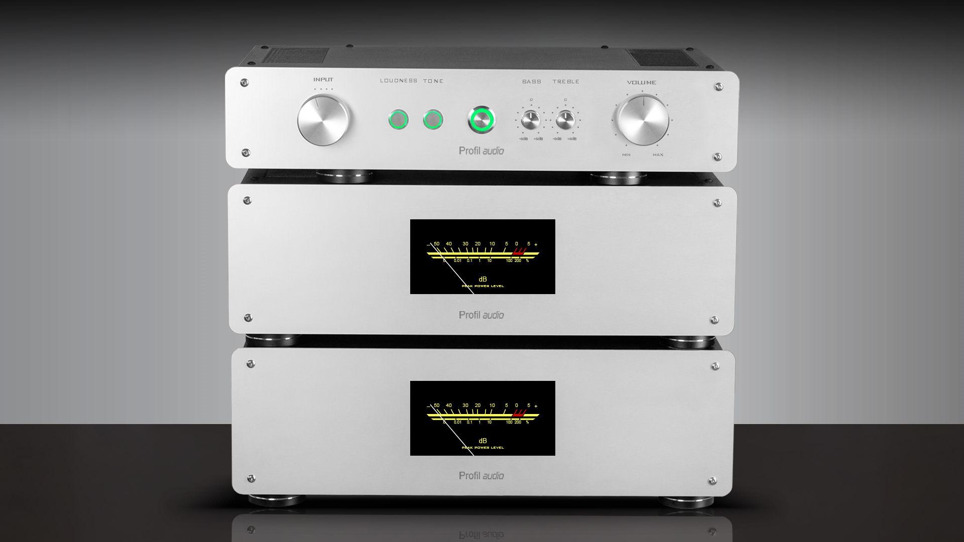 PAS-240 Модель 6 блочный вариант + алюм панель + индикаторы.